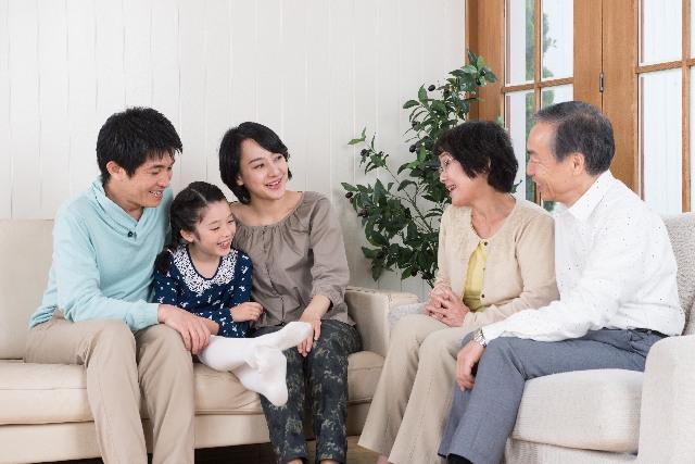 子供にとって大切な祖父母とのふれあい